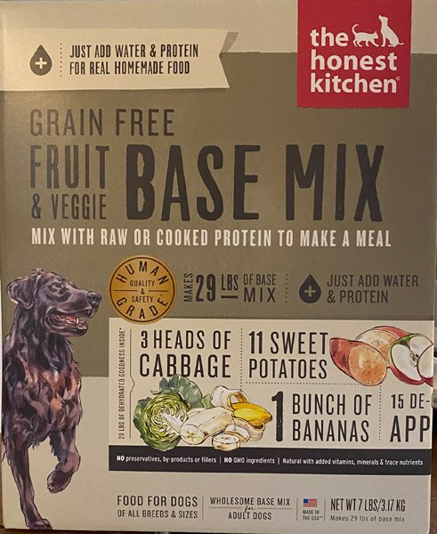 Honest Kitchen Fruit and Veggie Base Mix
